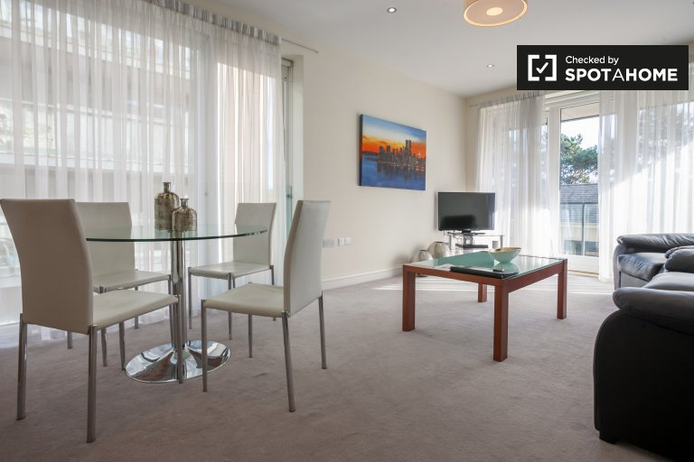 Apartamento de 2 quartos para alugar em Downtown, Dublin