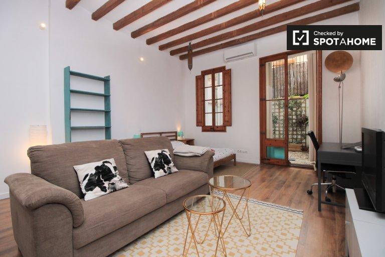 Słodki apartament typu studio do wynajęcia w El Born, Barcelona
