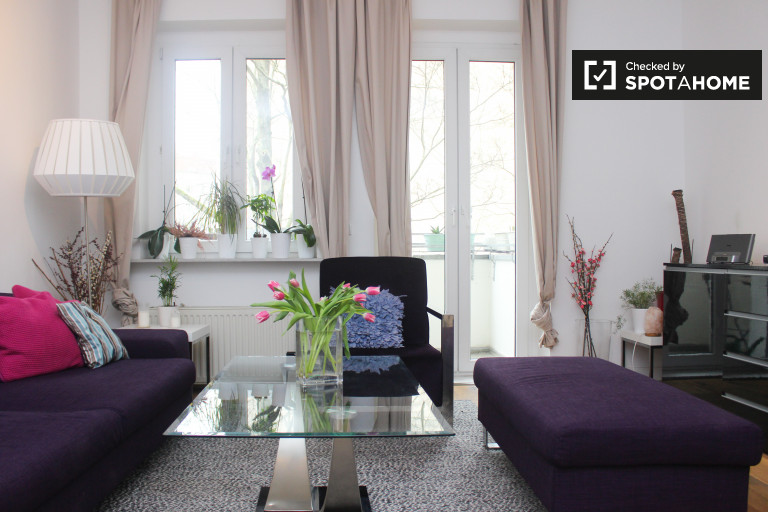 Super moderno apartamento de 2 quartos para alugar em Mitte, Berlim