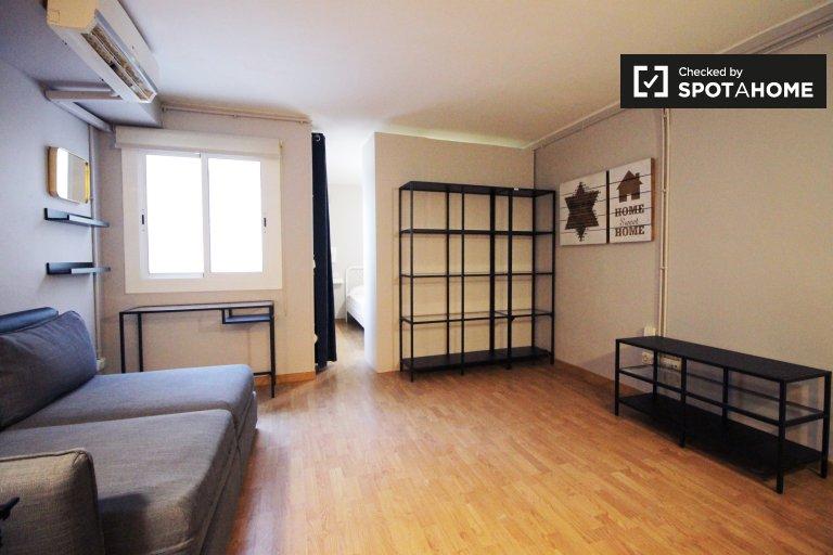 Furnishe Studio-Wohnung zur Miete in Sant Andreu, Barcelona