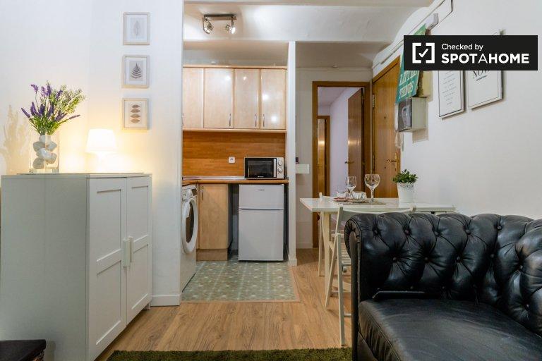 1-Zimmer-Wohnung zur Miete in Poble-Sec, Barcelona