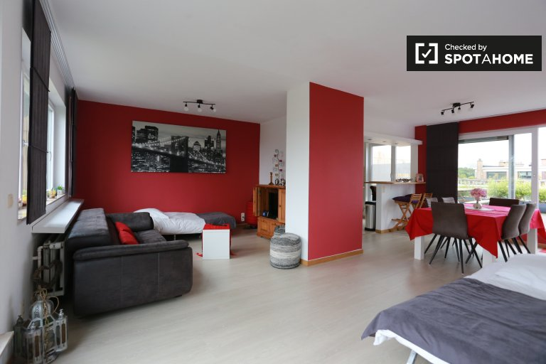 Great 2-bedroom apartment for rent in Heembeek, Brussels