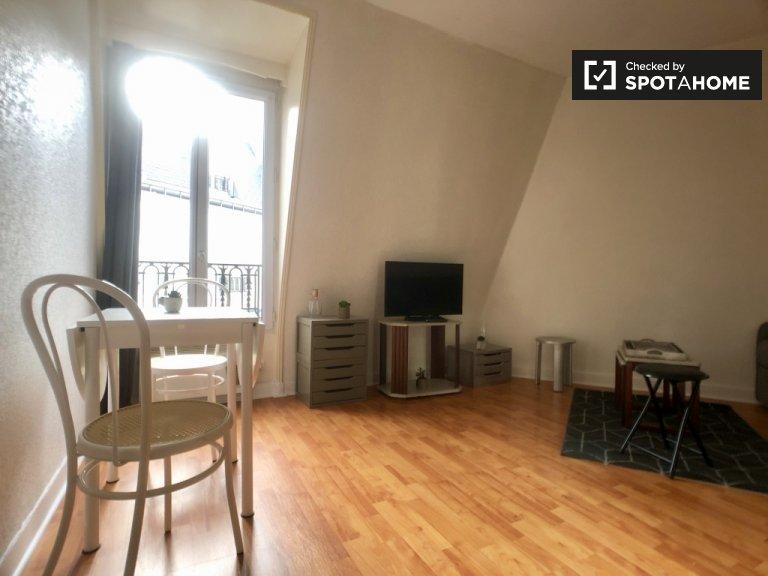 Luminoso monolocale in affitto nel 14 ° arrondissement, Parigi