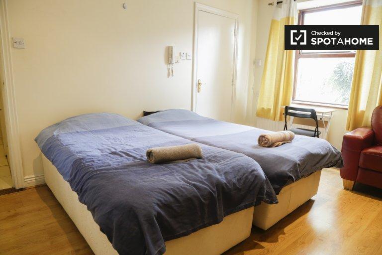 Cosy studio apartment for rent in Stoneybatter, Dublin