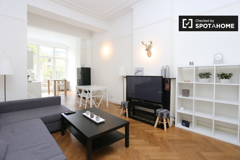 Spacious 2-bedroom apartment for rent in Ixelles, Brussels