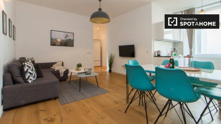 Stylowy 2-pokojowy apartament do wynajęcia we Wedding, Berlin
