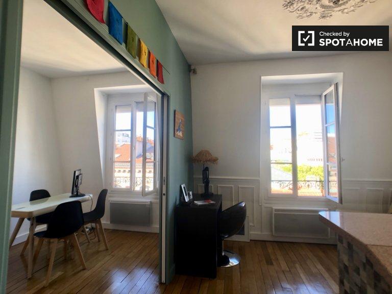 Fab studio apartment for rent in Boulogne-Billancourt, Paris