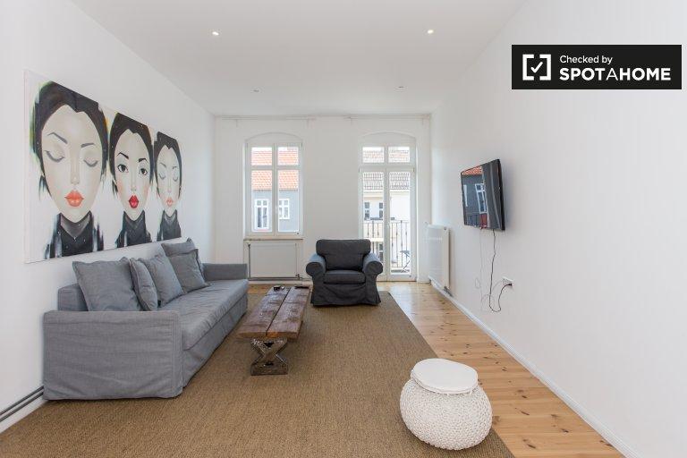 Appartamento con 1 camera da letto in affitto a Friedrichshain, Berlino