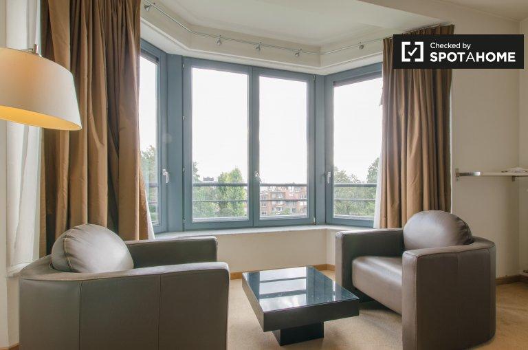 Apartamento loft para alugar em Schaerbeek, Bruxelas