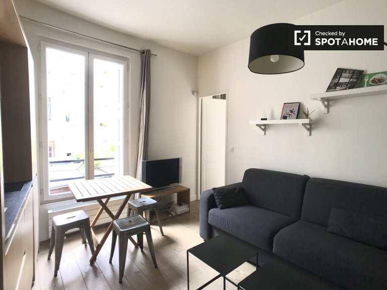 1-pokojowe mieszkanie do wynajęcia w 18. dzielnicy Paryża