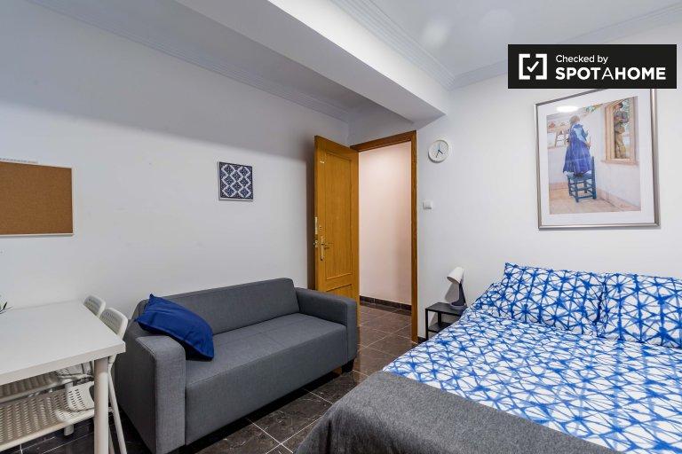 Habitación doble en alquiler, apartamento de 5 dormitorios, Rascanya, Valencia
