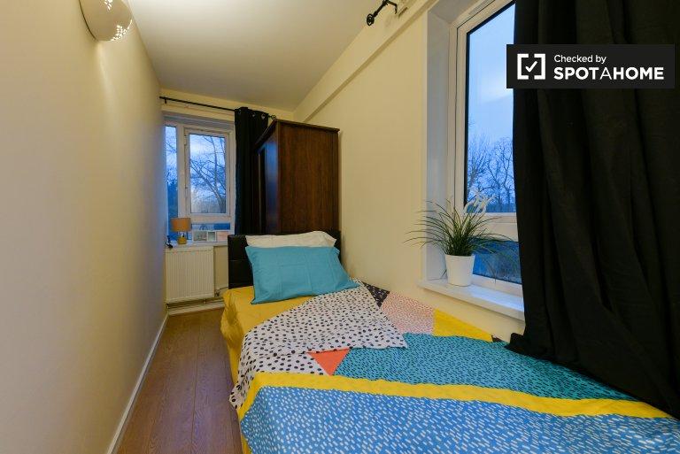 Umeblowany pokój w 4-pokojowym mieszkaniu w Islington, Londyn