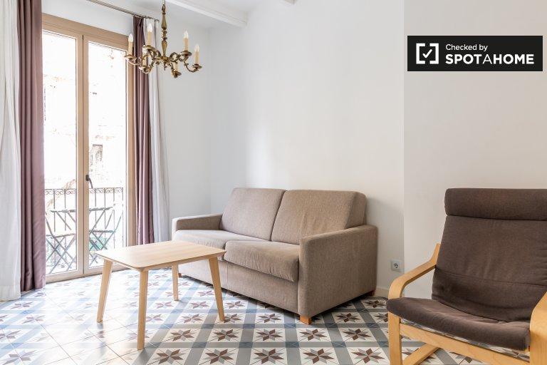 Apartamento moderno de 2 quartos para alugar em Eixample Dreta