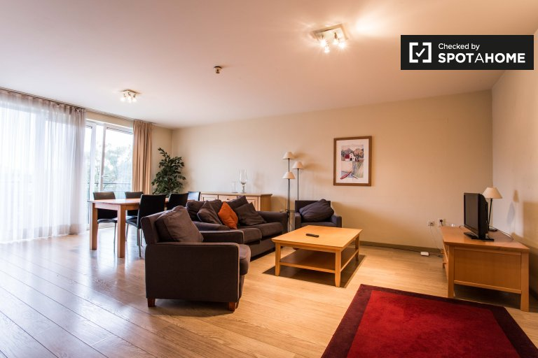 Spacious 3-bedroom apartment for rent in Evere, Brussels