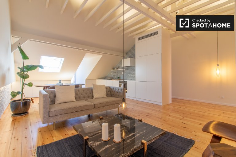 Wspaniały apartament typu studio do wynajęcia w Arroios, Lisboa