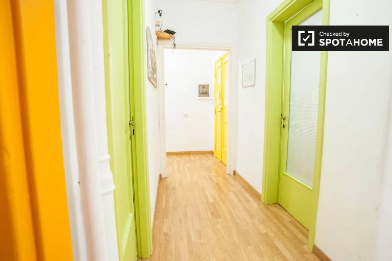 Lumineux et spacieux appartement de 3 chambres à Prati, Rome