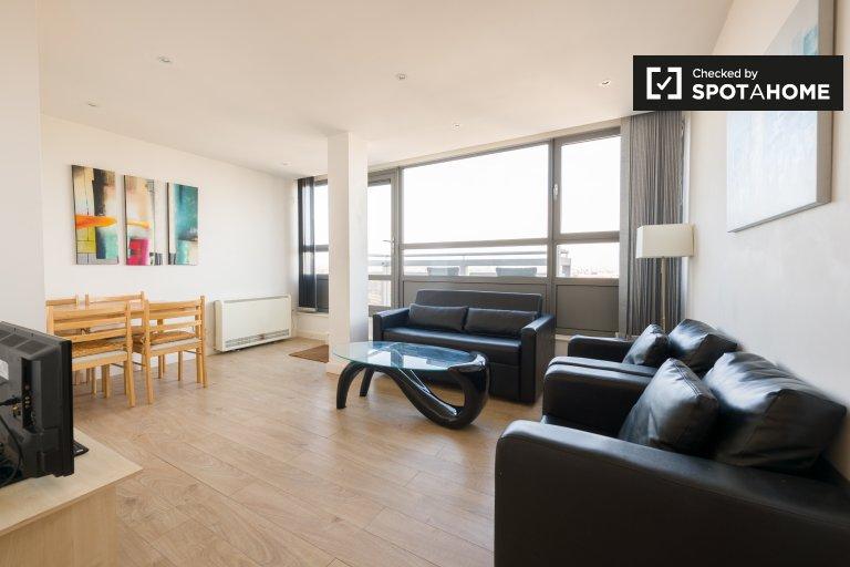 Piękny apartament z 2 sypialniami do wynajęcia w Brixton w Londynie