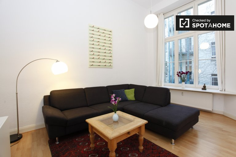 Cosy 1-bedroom apartment for rent in Tempelhof- Schöneberg