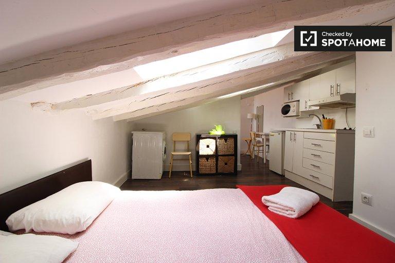 Studio-Wohnung zur Miete in Malasaña, Madrid