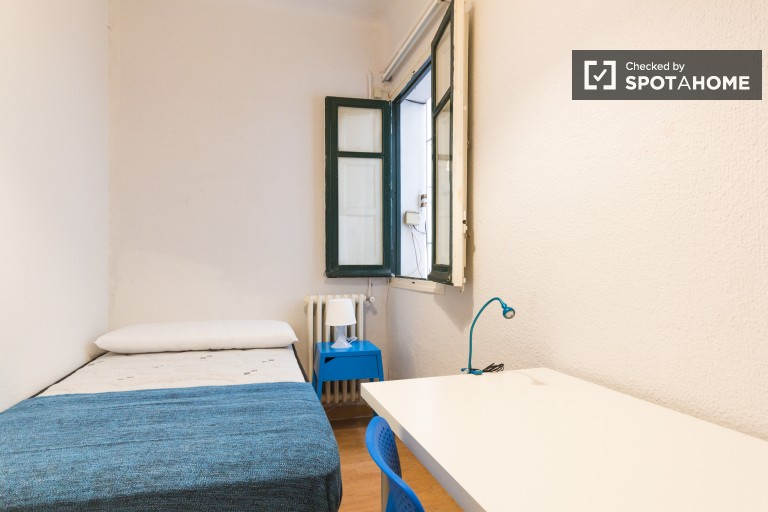 Cozy room in shared apartment in Atocha and Delicias, Madrid