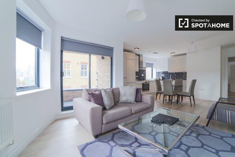 Stilvolle 2-Zimmer-Wohnung zur Miete in Tower Hamlets, London
