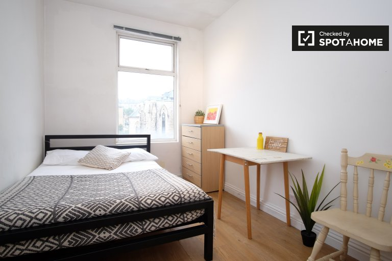 Double Bed in Rooms to rent in furnished 3-bedroom flatshare in Islington