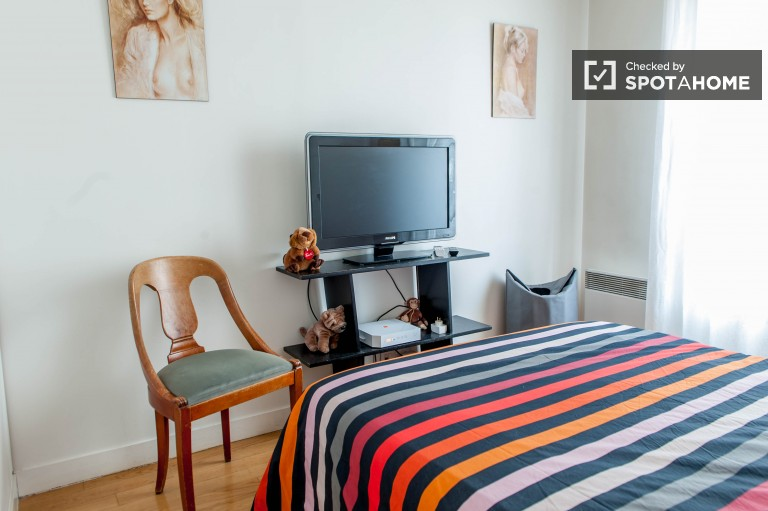 2 Rooms for rent in apartment with terrace - Gobelins, Paris