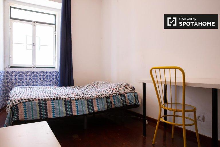 Quarto em apartamento com 3 quartos na Graça e São Vicente, Lisboa