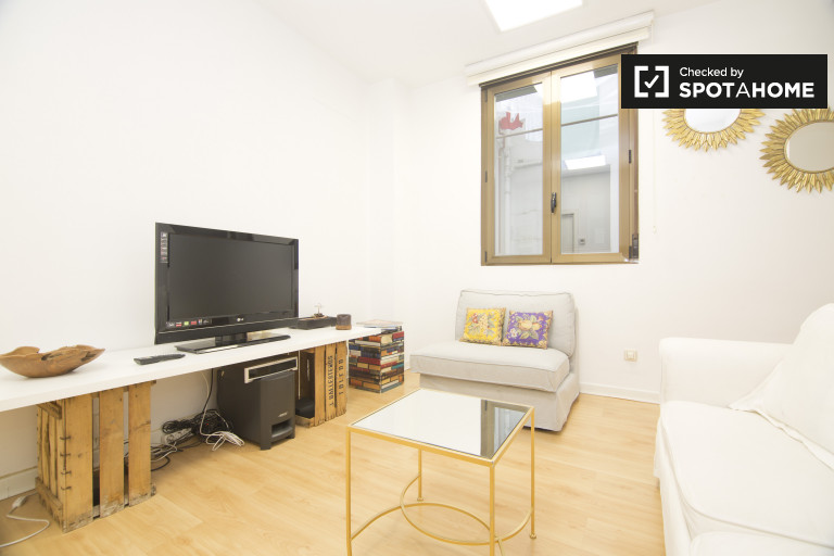 Beautiful 1-bedroom apartment for rent in Chueca, Madrid