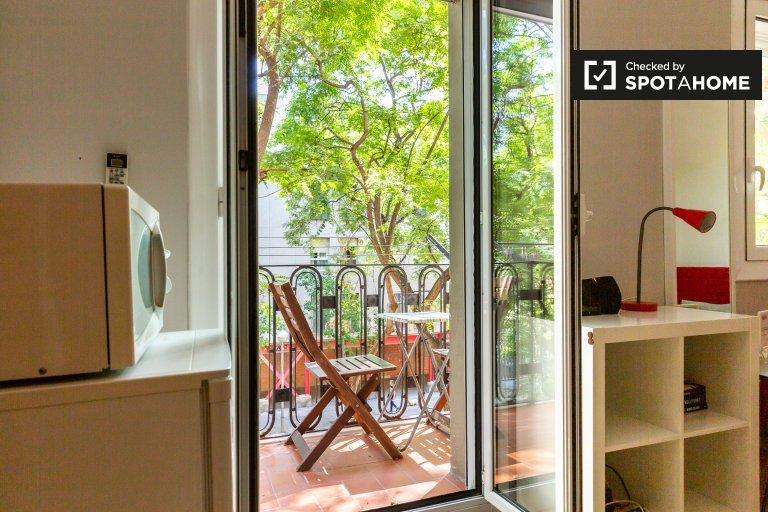 Apartamento informal de 2 dormitorios para alquilar en La Barceloneta