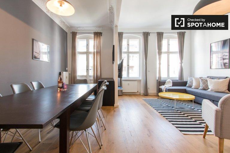 Elegante 3-Zimmer-Wohnung zur Miete in Moabit, Berlin