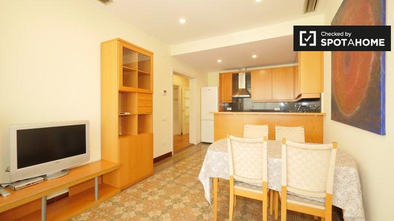 Elegante apartamento de 2 dormitorios en alquiler en Barri Gòtic