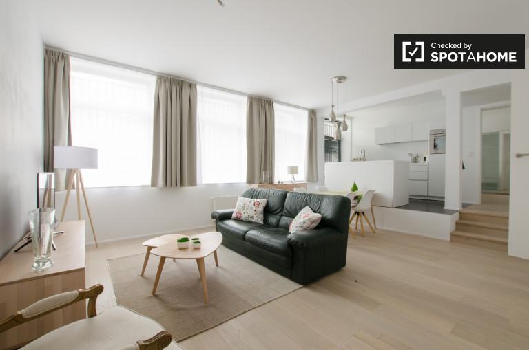 Geräumige 1-Zimmer-Wohnung zur Miete in Ixelles, Brüssel
