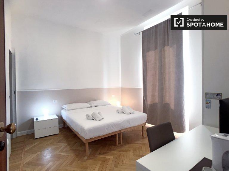 Stanza in affitto in appartamento con 2 camere da letto a Portello, Milano