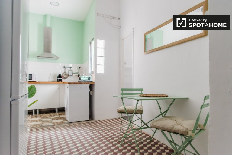 Studio apartment for rent in Extramurs, Valencia