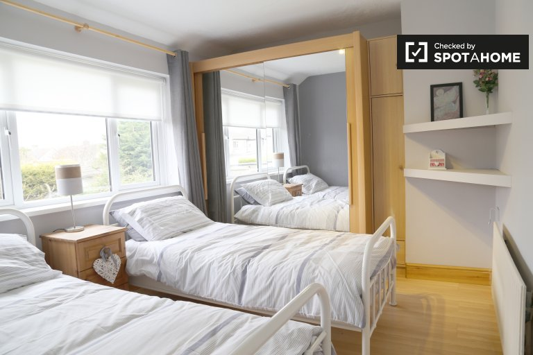 Shared room in 3-bedroom house in North Central Area, Dublin