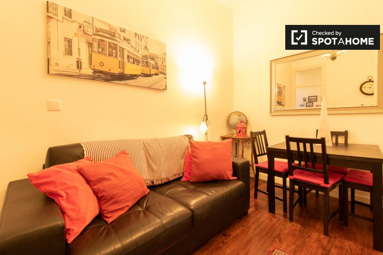 Modern 2-bedroom apartment for rent in Bairro Alto, Lisbon