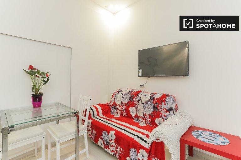 Schludny apartament typu studio do wynajęcia w Turro, Mediolan