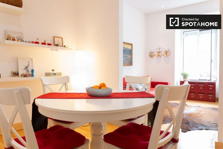 1-Zimmer-Wohnung zur Miete in Arroios, Lissabon