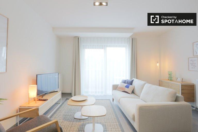 Jasne 2-pokojowe mieszkanie do wynajęcia w Zaventem w Brukseli