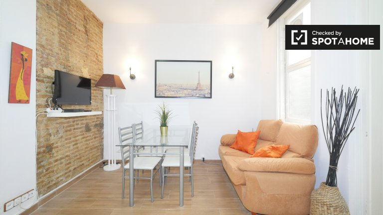Furnished 2-bedroom apartment for rent - El Raval, Barcelona