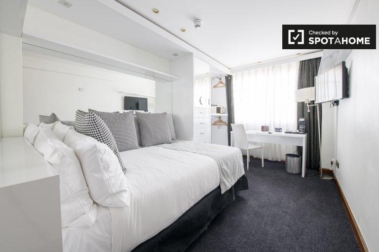 Stylowy apartament typu studio do wynajęcia w Regent's Park w Londynie