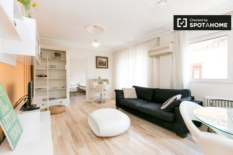 Spacious and bright 2-bedroom apartment for rent in Plaza Nueva