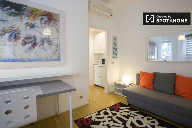 1-bedroom apartment for rent in Eur, Rome