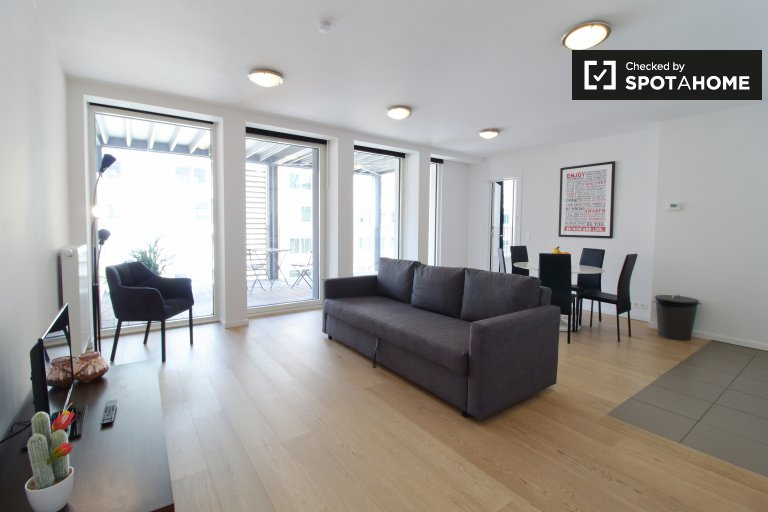 appartement 1 chambre à louer dans le quartier européen, Bruxelles