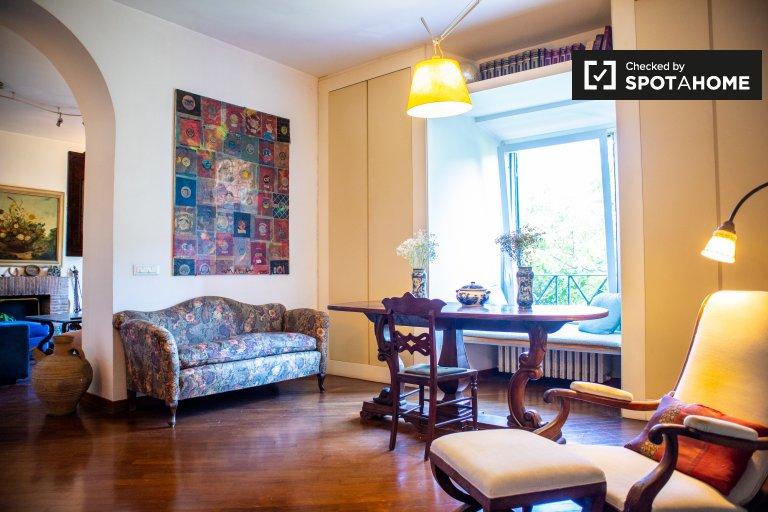 Beau studio à louer à Trastevere, Rome