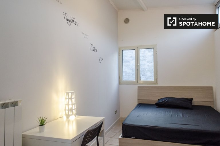 Tidy room for rent in 2-bedroom house in Trieste, Rome