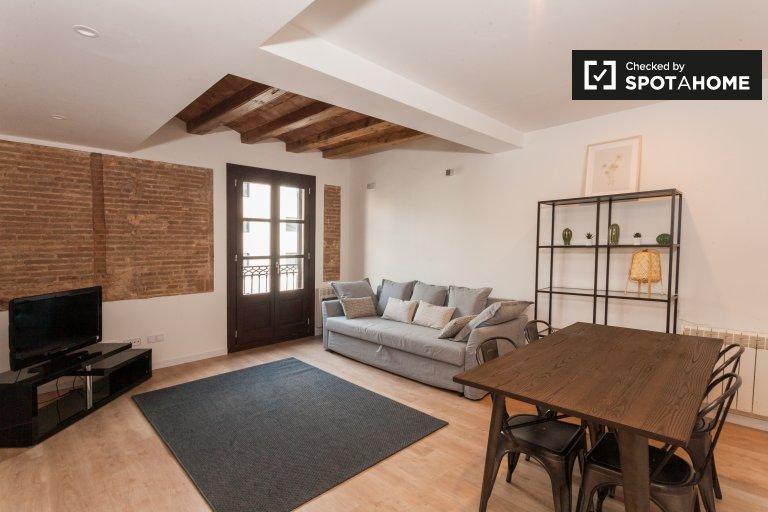 Angesagte 3-Zimmer-Wohnung zur Miete in L'Eixample, Barcelona
