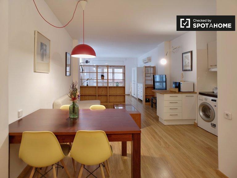Gemütliches Studio-Apartment zur Miete in Gràcia, Barcelona