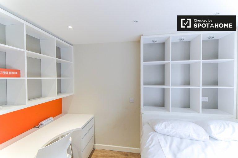 Habitación moderna en residencia en Tower Hamlets, Londres